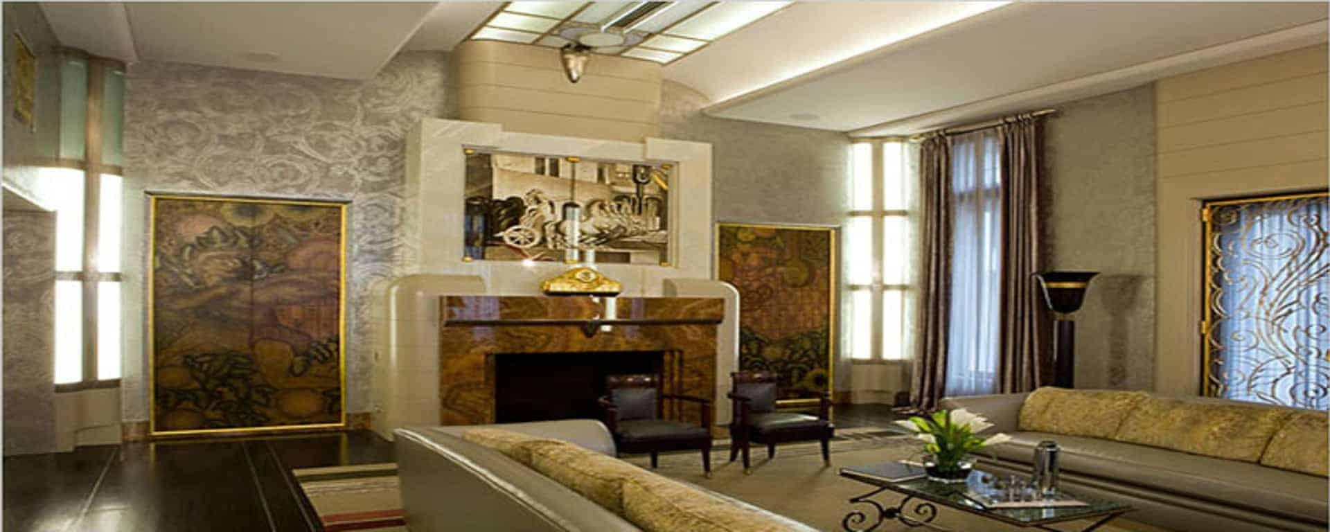INDOOR Ξ Architecture Solution Art Deco Style Interior