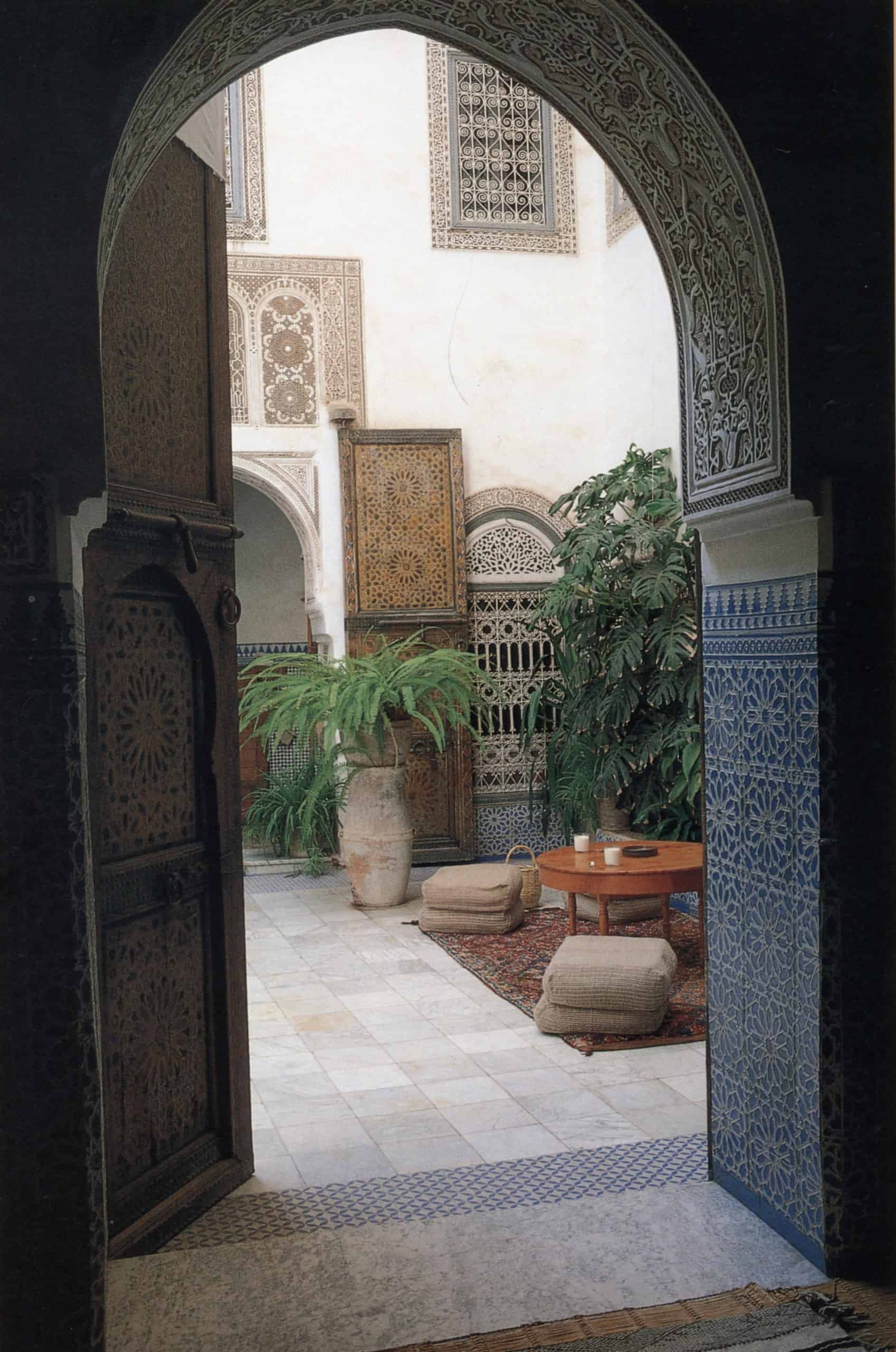Moroccan Interior Design Style Expert Service & Moroccan Islamic Art Furniture Sale by INDOOR Architecture London UK