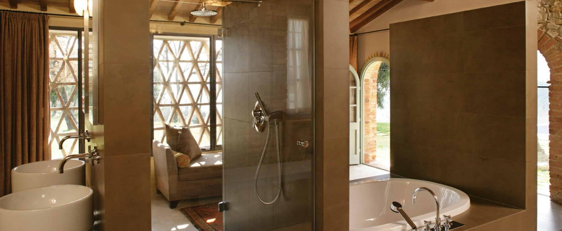 INDOOR Ξ Architecture Solution Tuscan Interior Style Bathroom